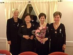 fra venstre: Ingunn Hole Hunes, Arnhild Strand,Ingeborg Hjorthol, Liv Tefre